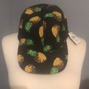 Fun Pineapple Hat NWT